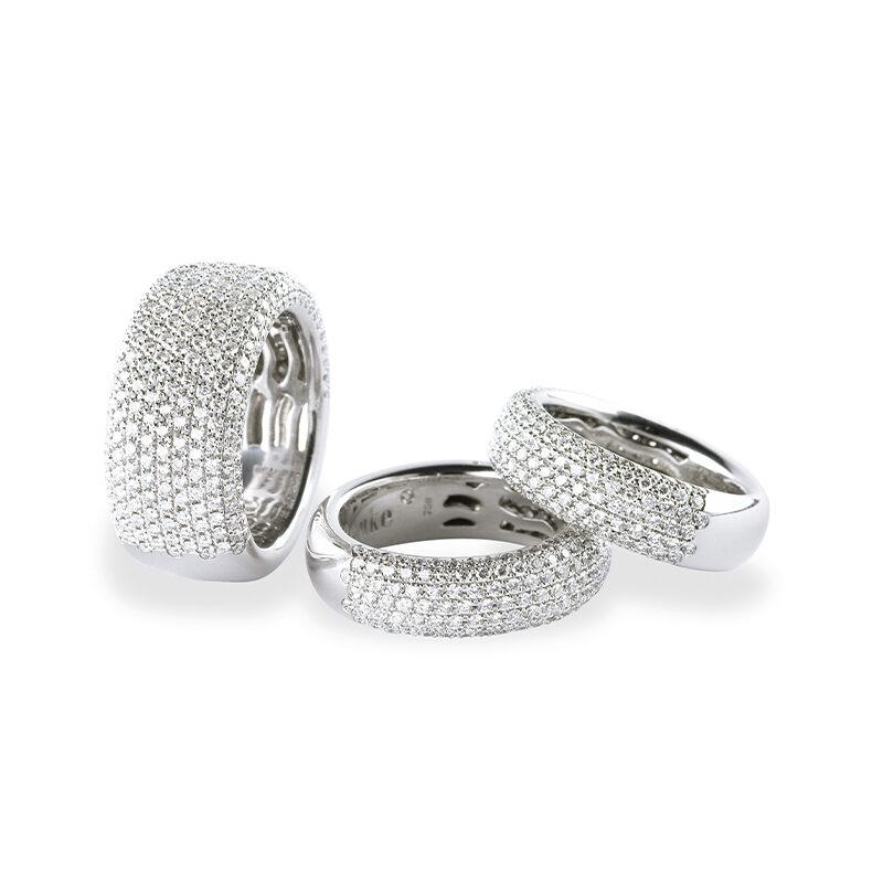 Diamantschleiferei Michael Bonke Ringe 3er Set