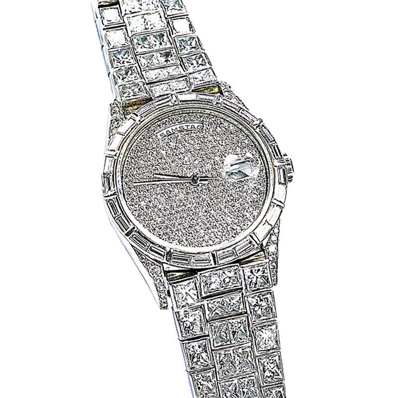 Diamantschleiferei Michael Bonke Uhr 1